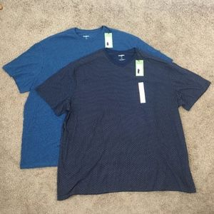Goodfellow & Co Men's Big & Tall Shirts Set of 2